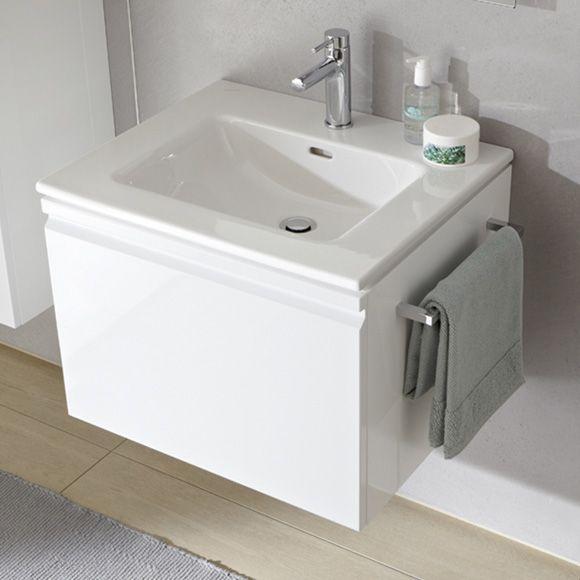 Laufen Pro S Waschtisch und Waschtischunterschrank, 1 Schublade weiß matt