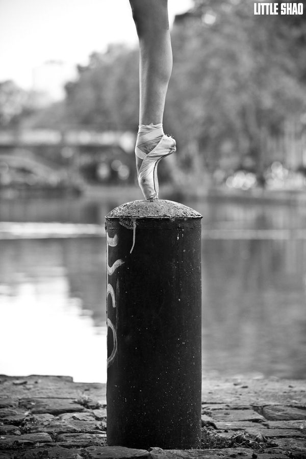 """One leg and nothing else""  Little Shao Photographer - Ballet Dancer (Paris, France)"