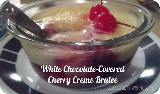 White Chocolate-Covered Cherry Crème brûlée {Renuzit®'s Tempting ...