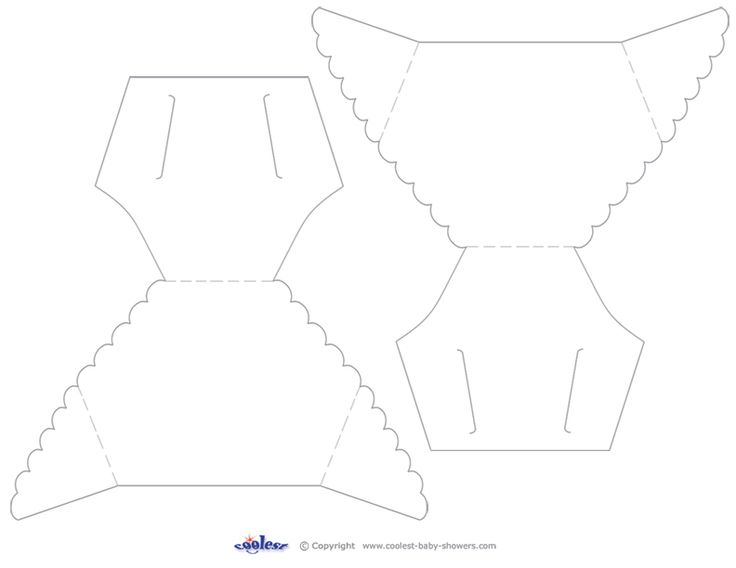 diaper cut out template - printable baby diaper template enjoy our free printable