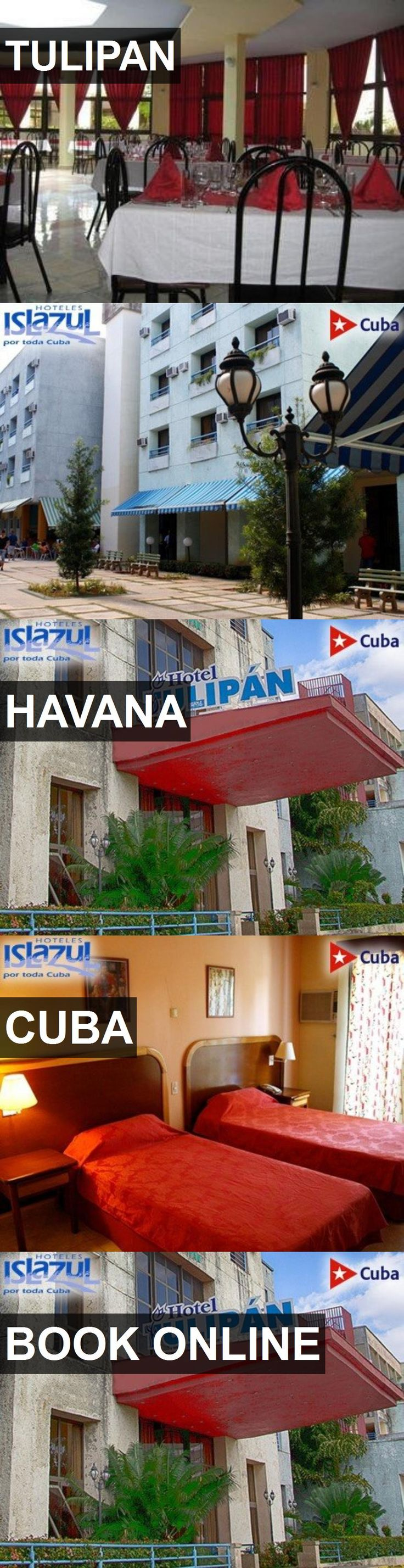 Hotel TULIPAN in Havana, Cuba. For more information, photos, reviews and best prices please follow the link. #Cuba #Havana #TULIPAN #hotel #travel #vacation
