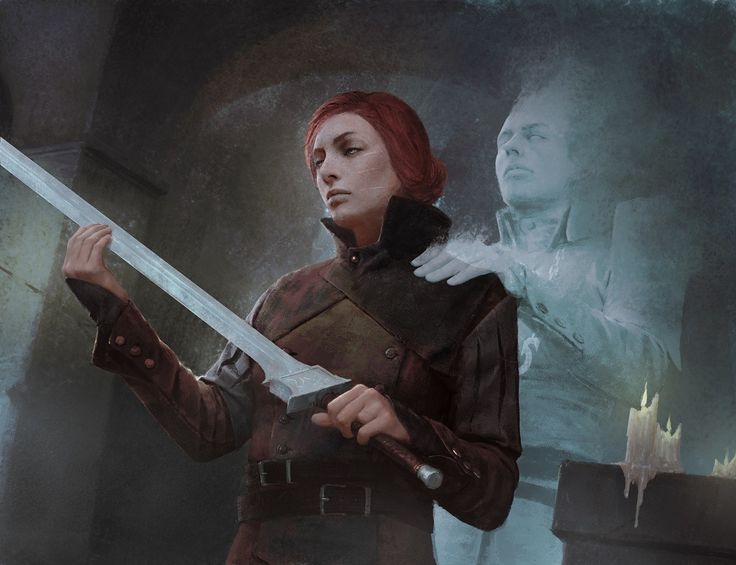 Blessing by Igor Kieryluk. ArtStation   Illustration for Shadows over Innistrad Magic the Gathering expansion.  Copyright Wizards of the Coast LLC 2016