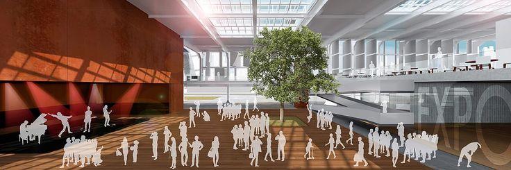 JDB Arquitetura + Design | Centro de Convenções Barra Funda