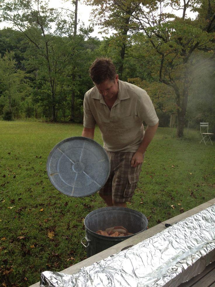 Garbage can dinner...cajun steam pot...seafood boil ...