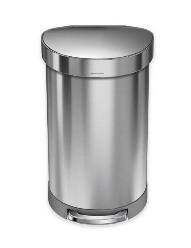 Best Details About Simplehuman Brushed Stainless Steel Semi 400 x 300