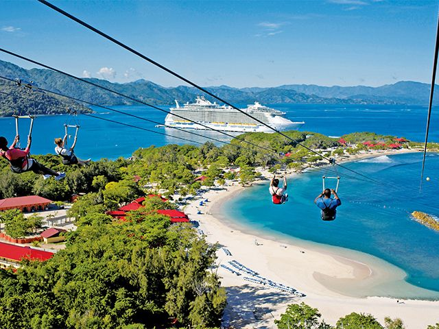 世界最大の超大型新造船ハーモニー・オブ・ザ・シーズで航くカリブ海クルーズ11日間|名鉄観光【クルーズ紀行】