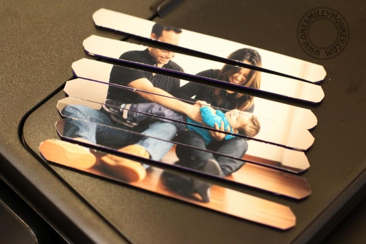 DIY Family Photo Puzzle