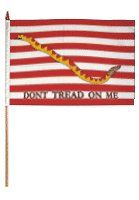 First Navy Jack Traditional Flag and Flagpole Set