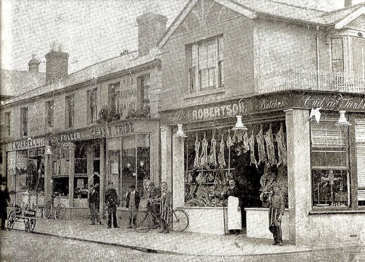 The corner of Rusthall High Street and St Paul's Street c 1907.
