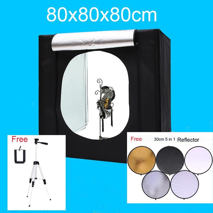On sale US $94.98  80*80*80CM Led photo Studio Lightbox Shooting Tent Softbox Kit Photography Light Box Kit With Free Gift   #photo #Studio #Lightbox #Shooting #Tent #Softbox #Photography #Light #Free #Gift  #OnlineShop