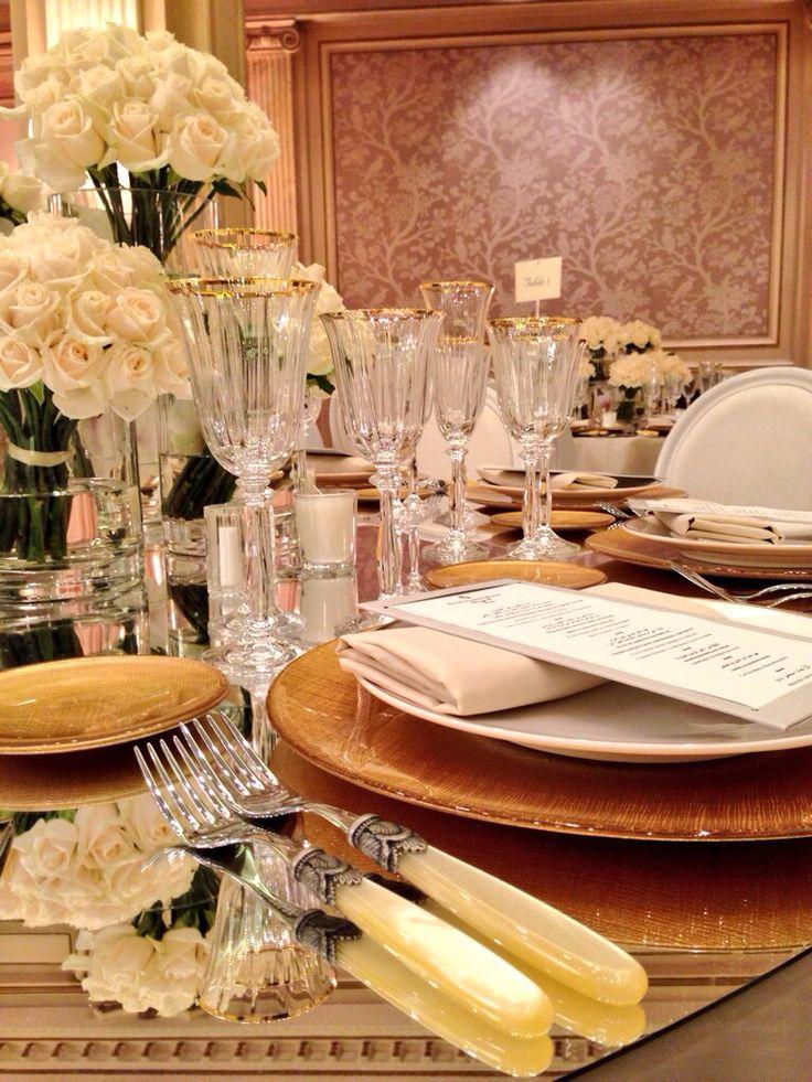 A royal lunch in #salonvendome #ballroom @fsparis