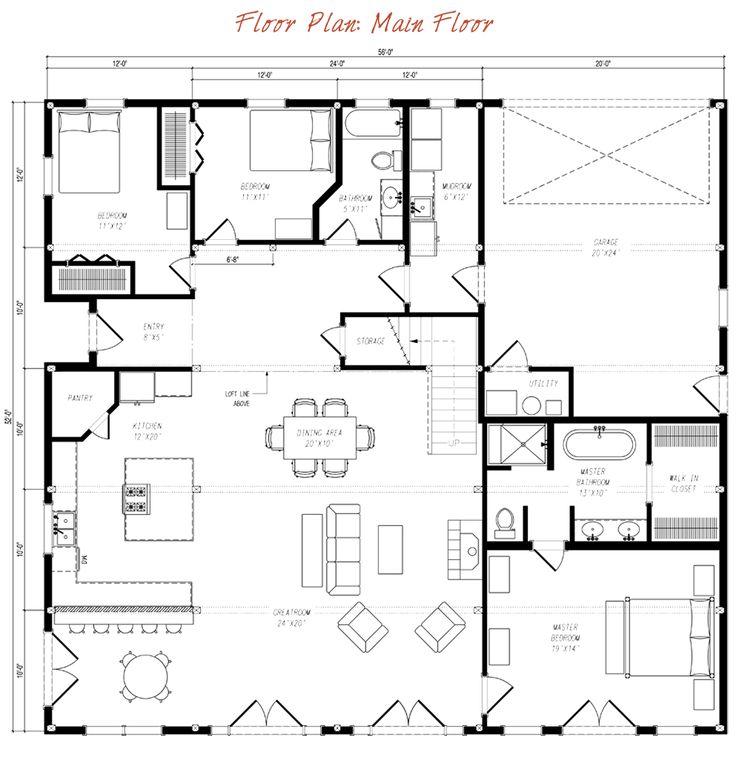 Best 25 gambrel barn ideas on pinterest gambrel for Gambrel floor plans
