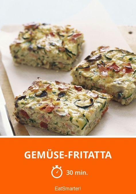 Gemüse-Fritatta - smarter - Zeit: 30 Min. | eatsmarter.de