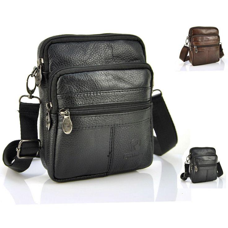 $12.99 (Buy here: https://alitems.com/g/1e8d114494ebda23ff8b16525dc3e8/?i=5&ulp=https%3A%2F%2Fwww.aliexpress.com%2Fitem%2F100-Genuine-Real-Cow-Leather-Classic-Zip-Small-Bag-Men-Women-Shoulder-Handbag-Casual-Travel-Pouch%2F32686654654.html ) 100% Genuine Real Cow Leather Classic Zip Small Bag Men Women Shoulder Handbag Casual Travel Pouch Purse Messenger Satchel for just $12.99