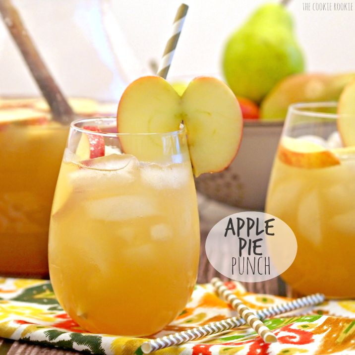 82 best punch recipes images on pinterest apple pie punch the best drink for thanksgiving and autumn autumn in a glass junglespirit Image collections