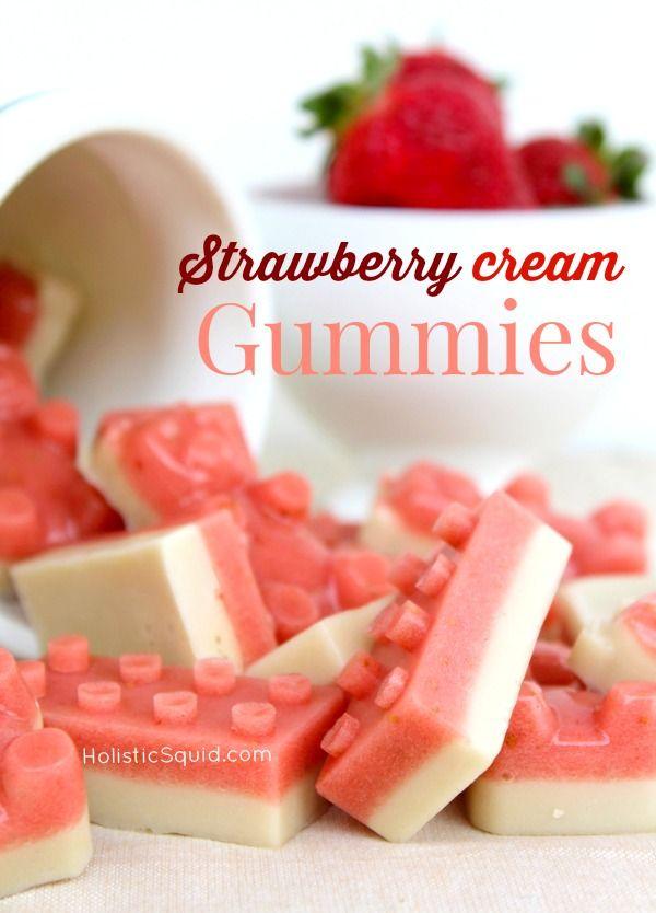 Strawberry Cream Gummies - Holistic Squid