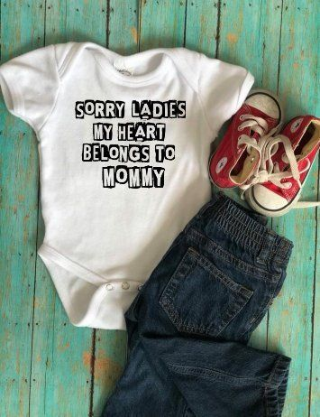 15d3e084 Valentines Day shirt sorry ladies my heart belongs to mommy boy/girl child  or infant shirt by CustomDixonDesigns on Etsy