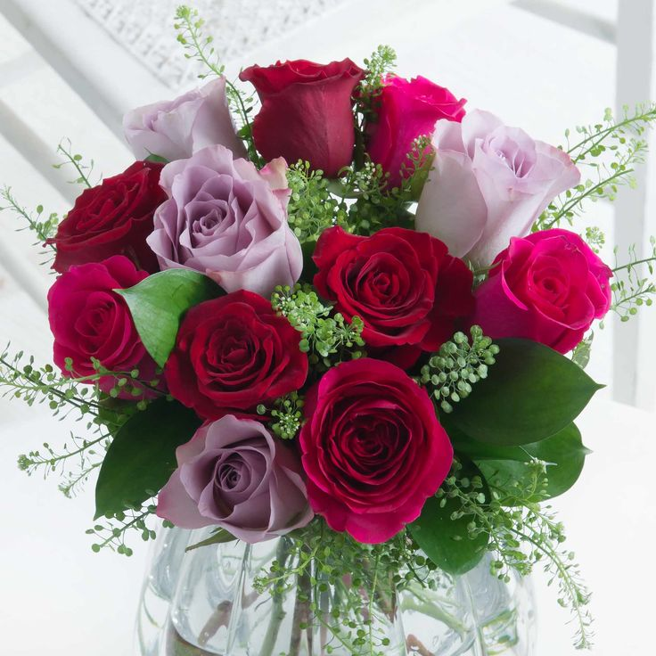 Romantic Roses - This gorgeous bouquet is the perfect way to let your loved one know just how much you care.