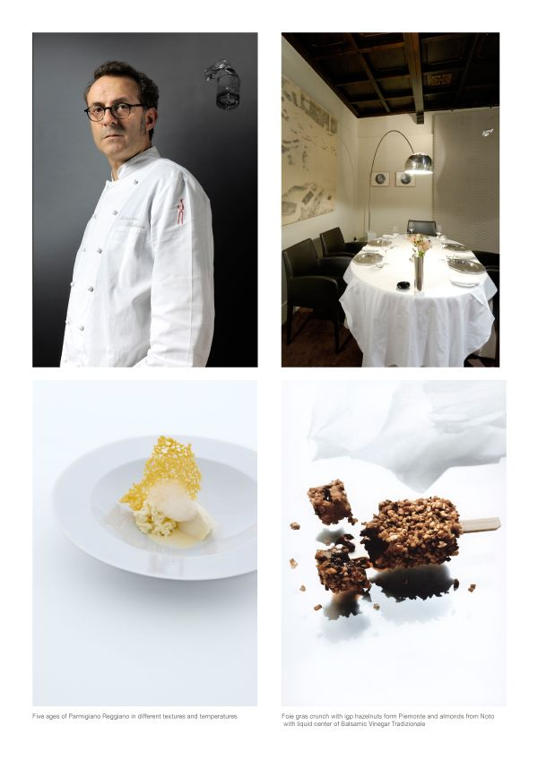 """Osteria Francescana in Modena, Italy is no. 3 restaurant on """"World's 50 Best List"""" and holds 3 Michelin stars"""