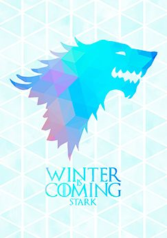 Poster Game of Thones - Winter is Coming