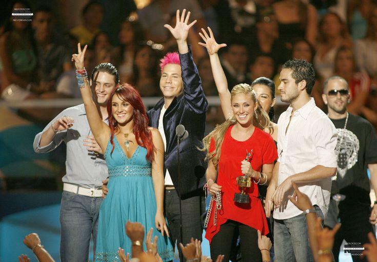 Premios Juventud 2006 - HQ EXCLUSIVA! - RBD Fotos Rebelde | Maite Perroni, Alfonso Herrera, Christian Chávez, Anahí, Christopher Uckermann e Dulce Maria