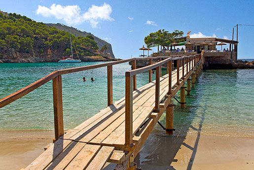 I think Dominic would look so cute in swim trunks under an umbrella! Fav holiday destination- camp de mar Mallorca