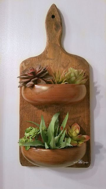 Redo It Yourself Inspirations : Farmhouse Cutting Board Planter