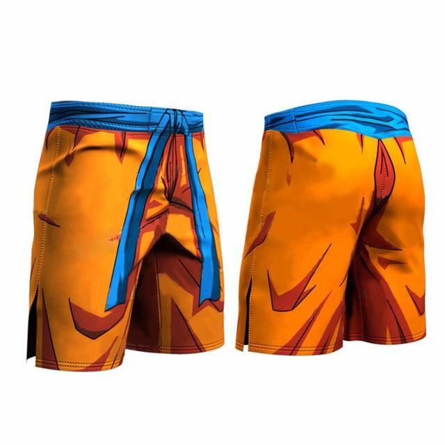 Dragon Ball Z Super – Goku Workout Compression Shorts