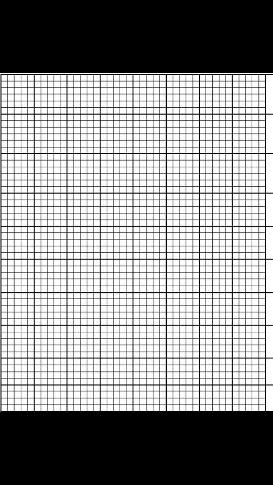 15 best Plastic Canvas Template images on Pinterest Punto croce - half inch graph paper template
