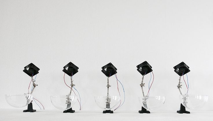 Sound sculptures and installations by ZIMOUN - but does it float