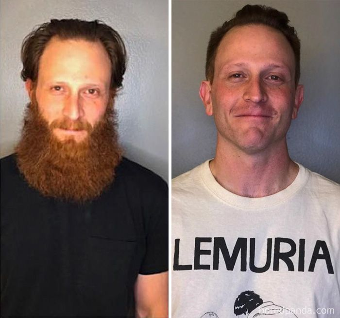 50 Men Before After Shaving That You Won T Believe Are The Same Person Beard Images Shaving Beard Before And After Shaving