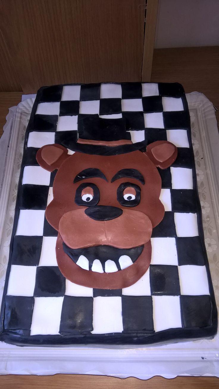 Five nights at freddys cake fnaf cake halloween cakes
