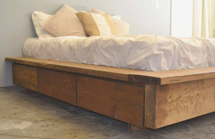 how to build a california king bed frame