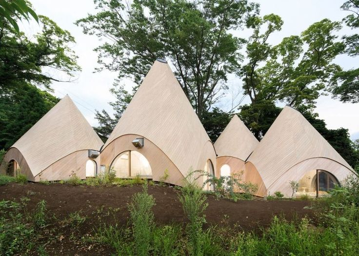 Conical Japanese Homes : Japanese home