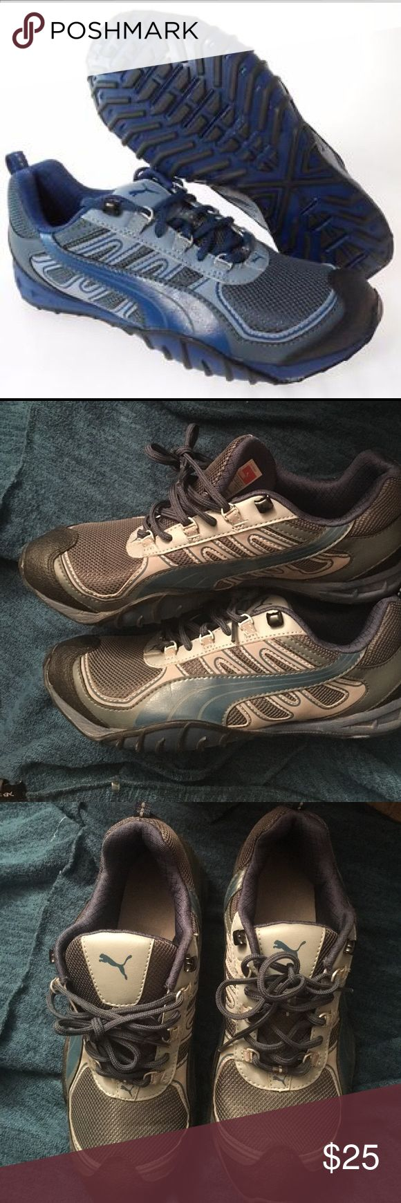 PUMA-FELLS-TRAIL-MENS-TURBULENCE RUNNING-SHOES On wore them like 3 times literally they are in brand new condition . Puma Shoes Athletic Shoes
