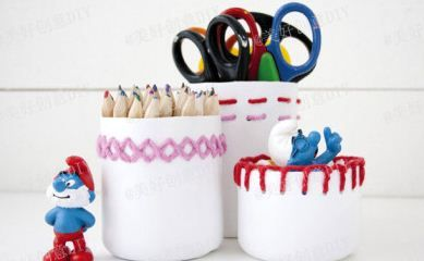 con envases de shampoo: Diy Ideas, Plastic Bottles, Crafts Ideas, For Kids, Recycled, Pens Holders, Plastic Container, Pencil Holders, Plastic Bottle Crafts