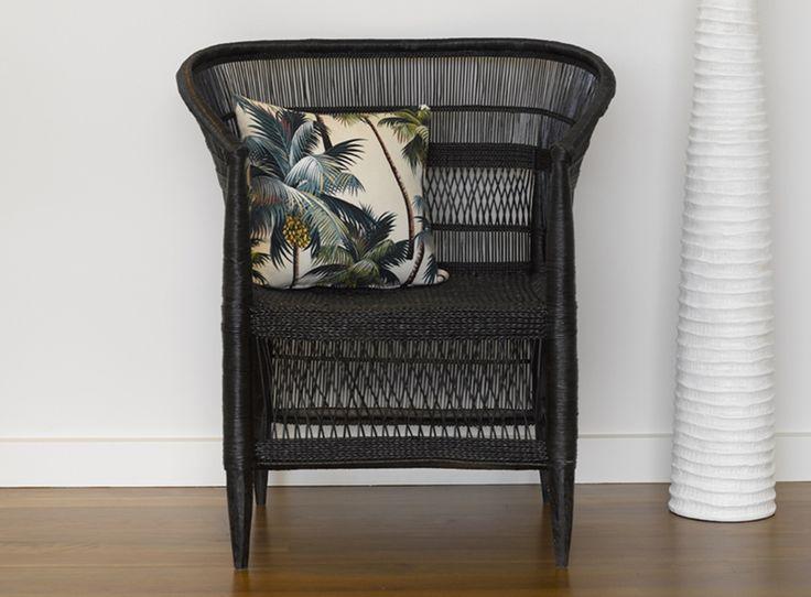 Malawi Chair in Black - Zohi Interiors