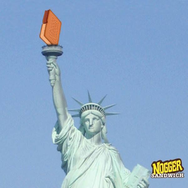 Nogger Anıtı'na baktıkça Nogger yiyesin geliyor mu?
