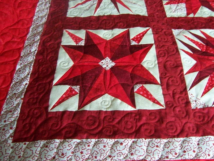 Quilt - Red Stars