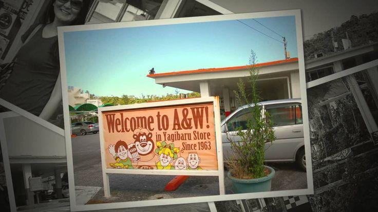 A&W 2013 Okinawa's Oldest A&W Restaurant in Yagibaru, same location sinc...