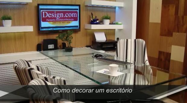 Como Decorar Um Escritório - http://www.decoracaodecoracao.com/como-decorar-um-escritorio