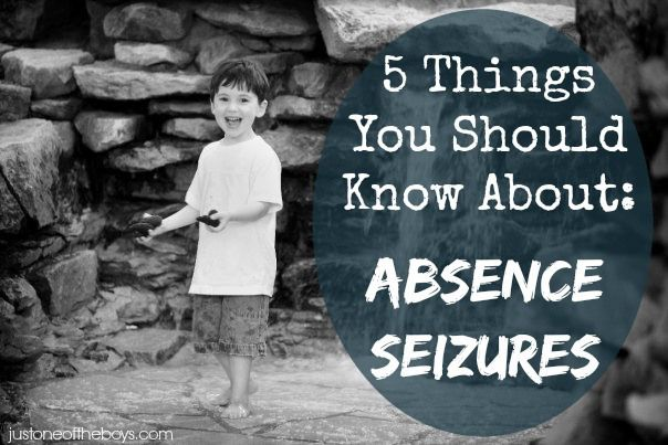 5 Things a mom and a little boy want you to know about Absence Seizures...