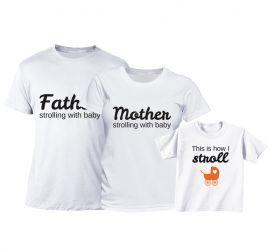 Set tricouri Familie - La plimbare
