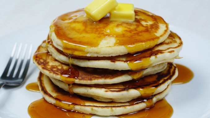 The Best Home Made Pancakes Pancakes Easy Pancake Recipe Easy Pancake Recipe