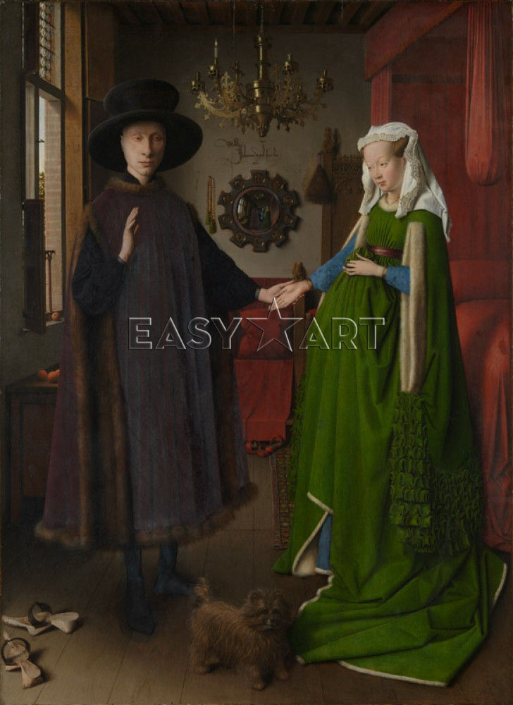 The Arnolfini Portrait print