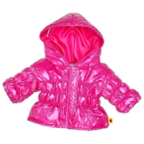 Pink Puffy Coat - Build-A-Bear Workshop US
