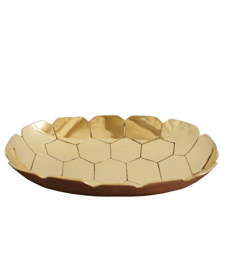 High Street Market - Turtle shell brass tray