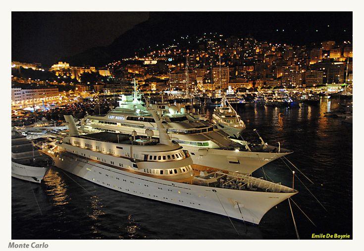 Super Yachts Moored in Monaco Harbour  #MonacoSuperYachtPackages