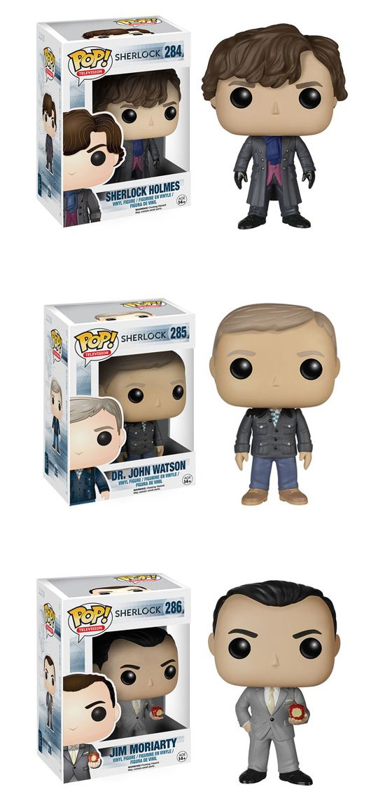 These New Sherlock Funko Pop! Dolls Are Perfectly Adorable