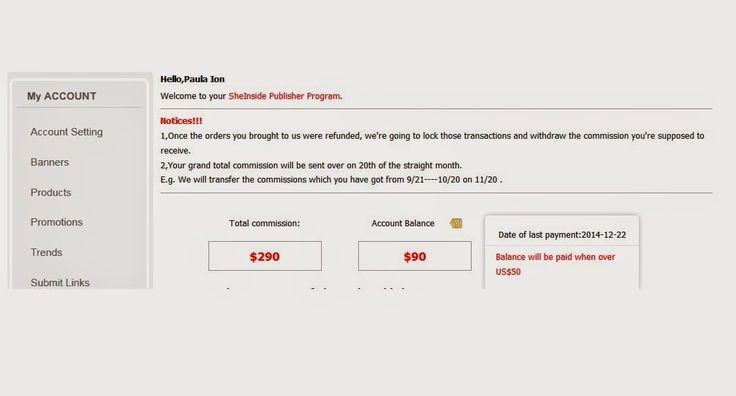 Lucruri privite de jos in sus: Sheinside Publisher Program te ajuta sa faci bani